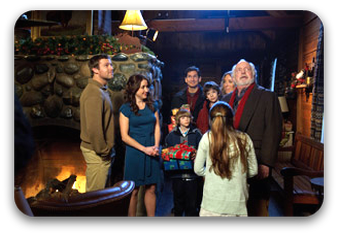 The Christmas Lodge ~ Thomas Kinkade Christmas DVD Giveaway! - Joy ...